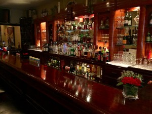 The bar at Settimo Cielo