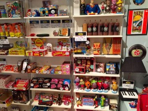 Candies, bobble-heads, and more