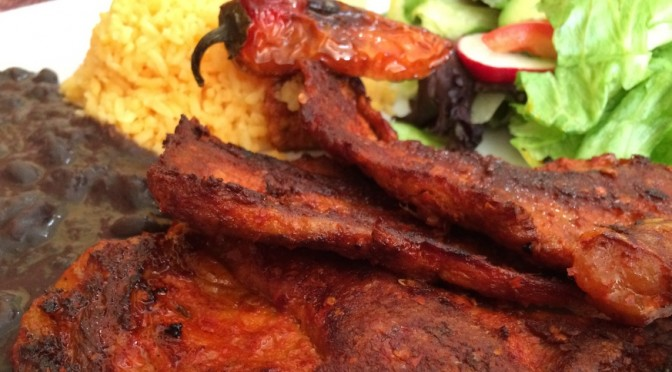 Carne Enchilada de Cerdo