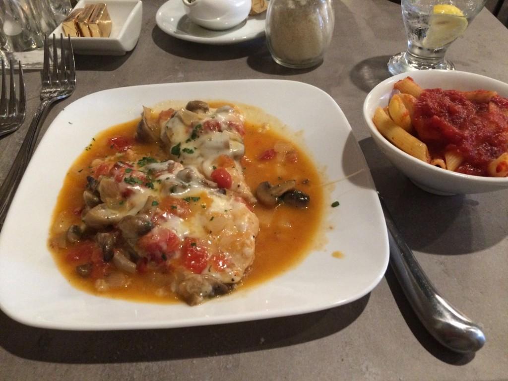 Chicken Palermo