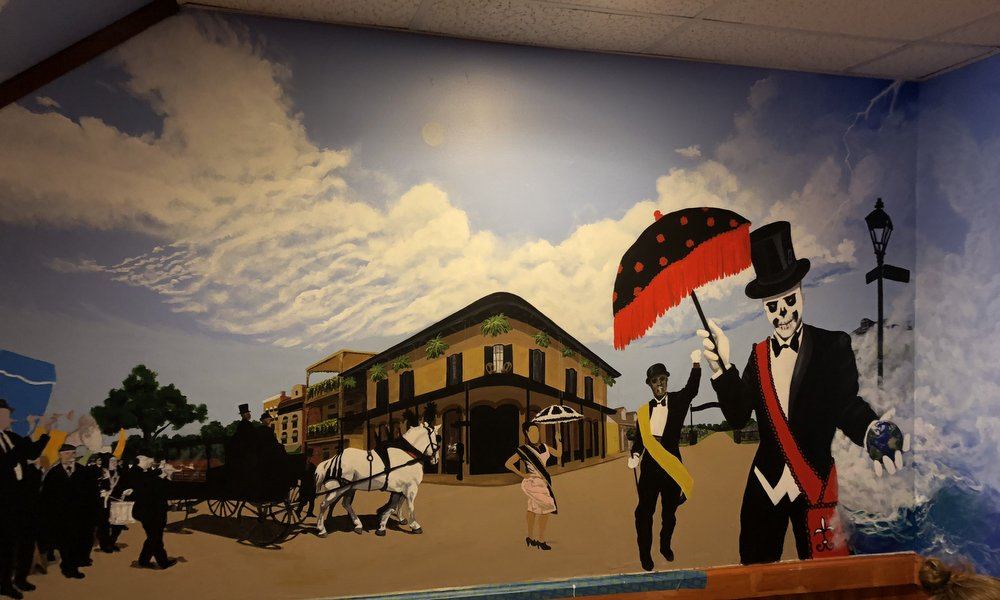 2nd Line Mural