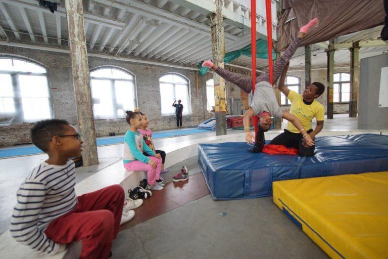 circus squad aerial silk lesson