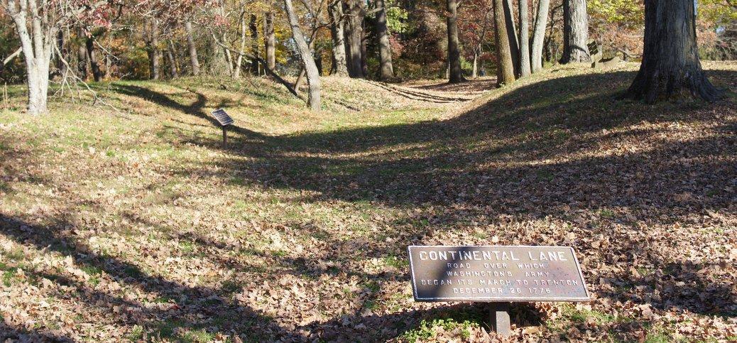 Washington Walked Here