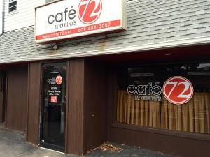 Cafe 72 exterior
