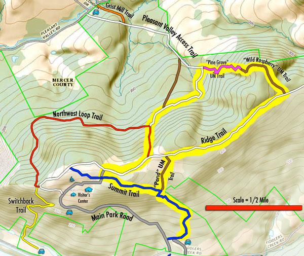 Pine-Grove-Hike-Map