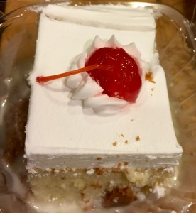 Guate Pan's delicious Tres Leches cake.