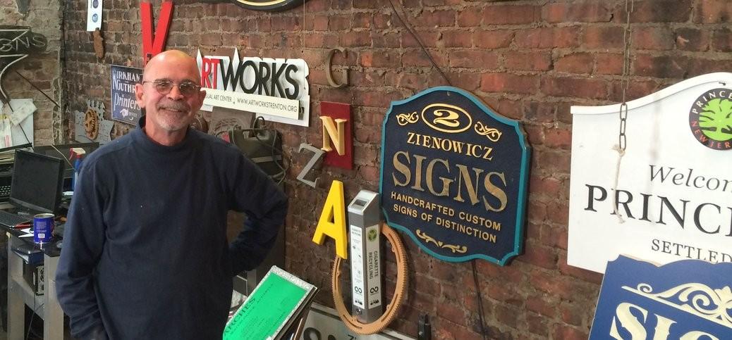 George Zienowicz Signs