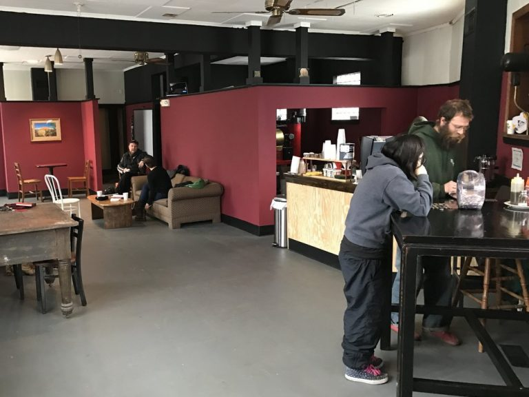 Trenton Coffee House Interior