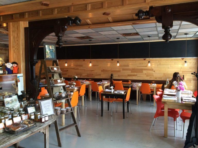 Comfort Food dining room
