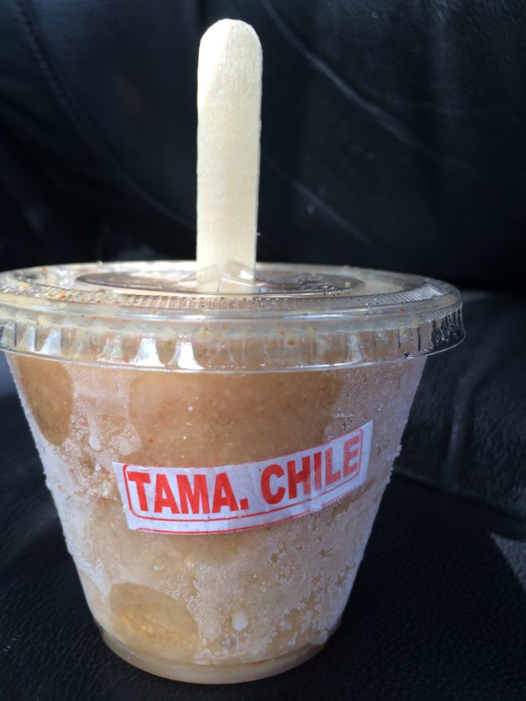 Tamarind with chile ice